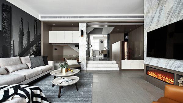 现代别墅装修风格