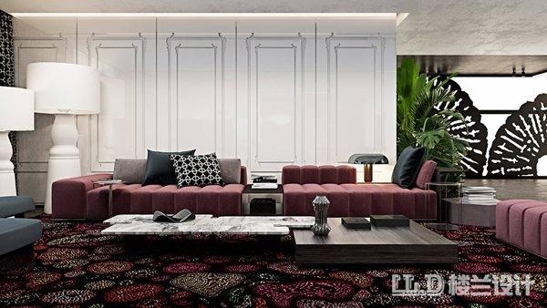 郑州装修公司推荐客厅背景墙效果图
