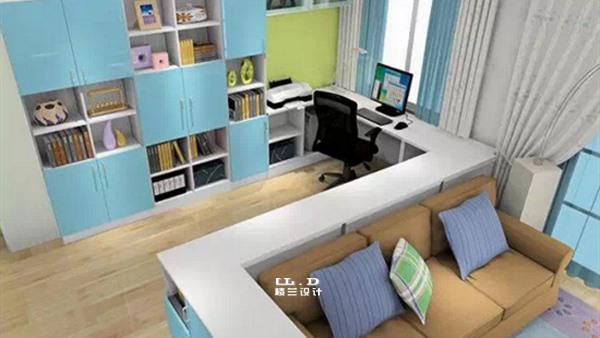客厅装修成书房好不好