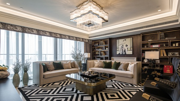 165平新房装修成美式风格,60万预算够吗
