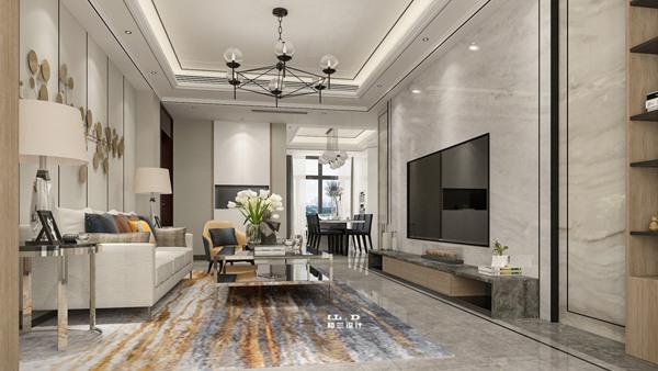 平层住宅室内装修设计效果图