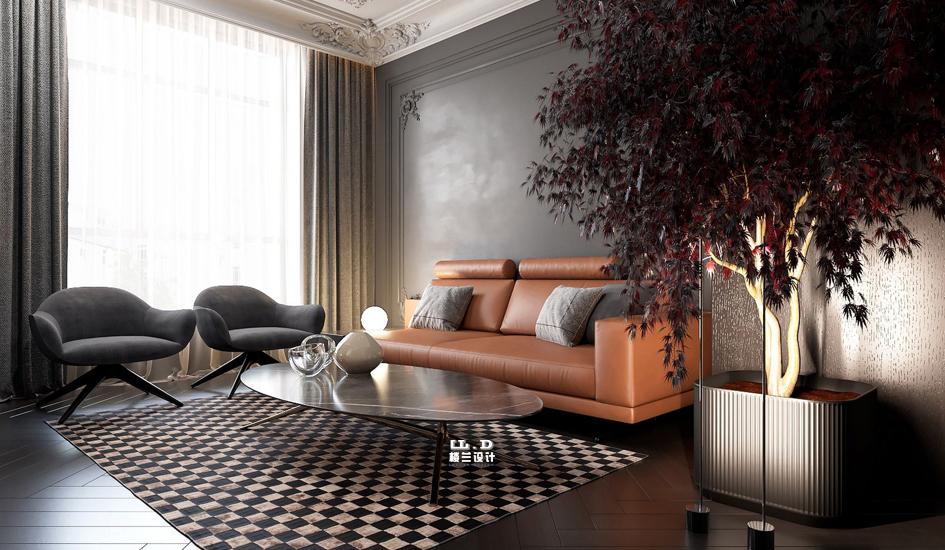 现代法式混搭风别墅装修设计风格
